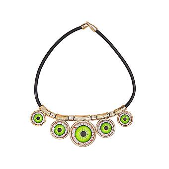 Halloween and horror  Necklace with eyes halloween