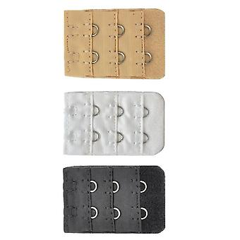 2 nålen - 3 Pack BH stropp forlengere