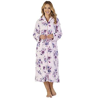 66c8920517209 Slenderella HC2312 Women s Coral Fleece Floral Robe Loungewear Bath  Dressing Gown