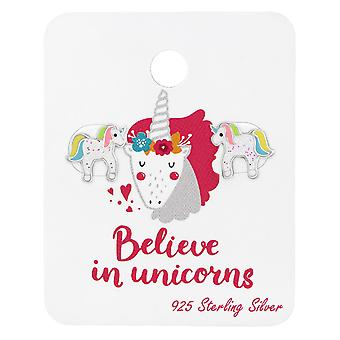 Unicorn - 925 Sterling Silver Sets - W38073x