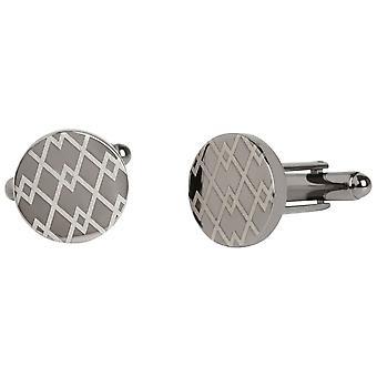 Simon Carter West End Argyle Cufflinks - Silver