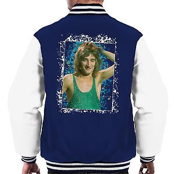 TV ganger Rod Stewart Russell Harty pluss menn Varsity jakke