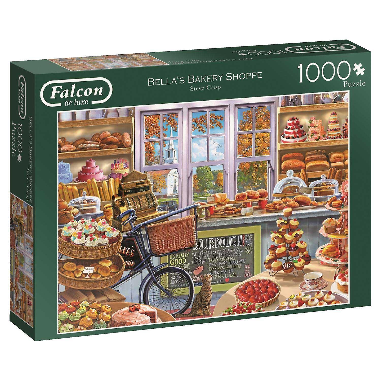 Falcon Deluxe Bella's bakkerij Shoppe Jigsaw puzzel (1000 stuks)