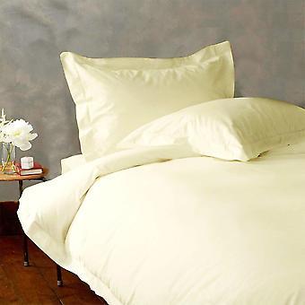 (1000tc)-100% Egyptian Cotton Duvet Cover Set- Ivory