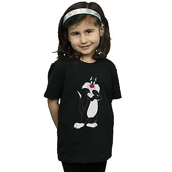 Looney Tunes Girls Sylvester Crossed Arms T-Shirt