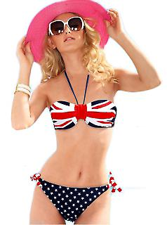 Waooh - Mode - Bikini motif britain