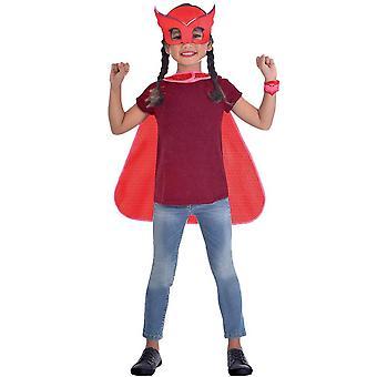 PJ maschere Owlette Cape Set - Costume bambino