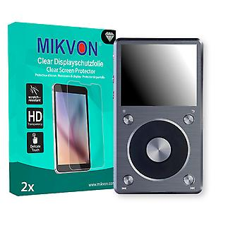 FiiO X5 II Screen Protector - Mikvon Clear (Retail Package with accessories)