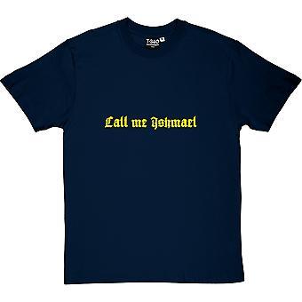 Moby Dick Öffnung Linien Herren T-Shirt