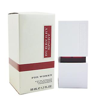 Burberry sport for kvinner - kvinne 50 ml Eau de Toilette EDT