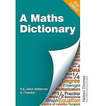 A Mathematical Dictionary for CSEC