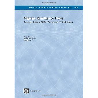 Migrant Remittance Flows: Findings from a Global Survey of Central Banks (World Bank Working Paper)