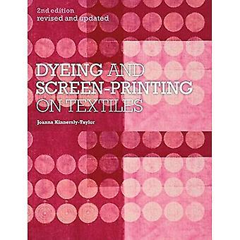 Färgning och screentryck på textilier