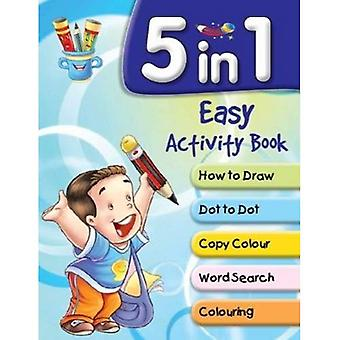 5 in 1 Easy Activity Book (Shooting Stars Series)