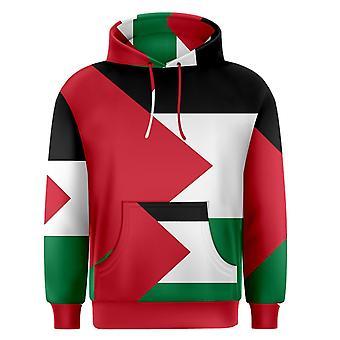 Palæstina sublimeret Flag Hoody