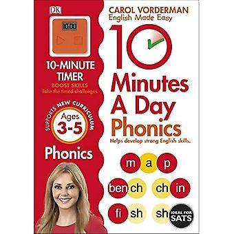 10 minuter en dag Phonics KS1 (engelska gjord lätt Ks1)