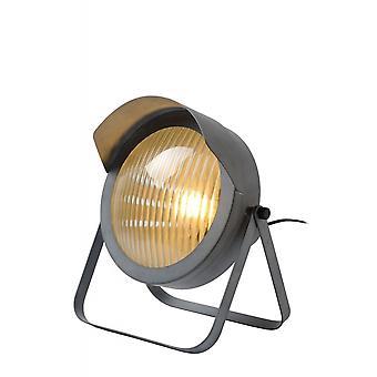 Cicleta яйца lucide промышленных стальной серый настольная лампа
