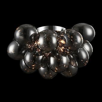 Maytoni belysning Balbo rök moderna glas Globen taklampa