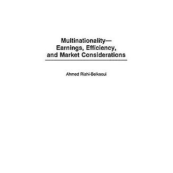 MultinationalityEarnings Efficiency and Market Considerations by RiahiBelkaoui & Ahmed