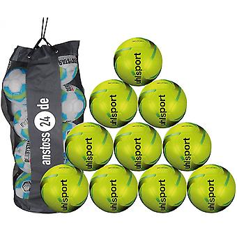 10 x Uhlsport youth ball 350 LITE SOFT incl. ball bag