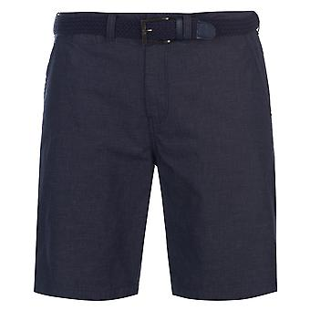 Pierre Cardin Mens YD Belted Chino Shorts