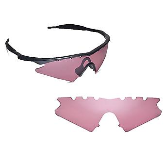 VENTED M Frame Sweep Replacement Lenses Polarized Hi Pink by SEEK fits OAKLEY