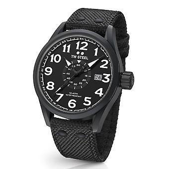Tw Steel Vs42 Volante Heren Horloge Zwart 48mm