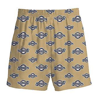Milwaukee Brewers MLB Youth Pajama Shorts