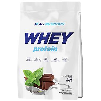 Allnutrition Whey Protein Double Chocolate 2270 g (Sport , Muscle mass , Proteins)