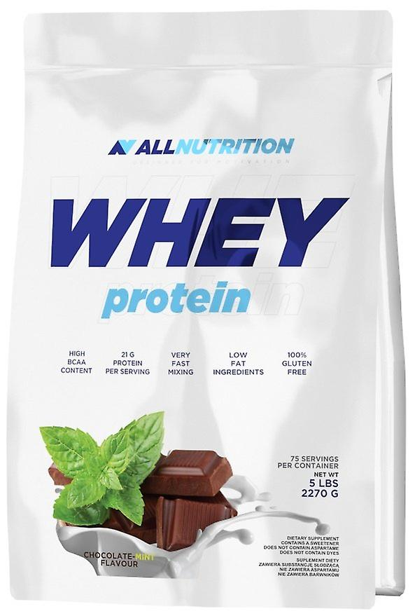 Allnutrition Whey Prougeein Double Chocolate 2270 g (Sport , Masse musculaire , Prougeéines)