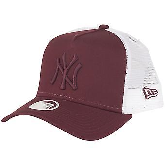New Era Damen Trucker Cap - New York Yankees maroon