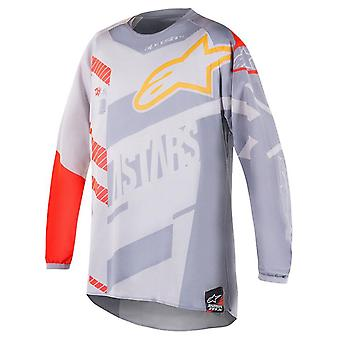 Alpinestars Grey 2018 Scream - Gator Limited Edition Kids MX Jersey