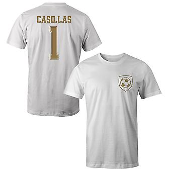 Iker Casillas 1 Real Madrid Style Player T-Shirt