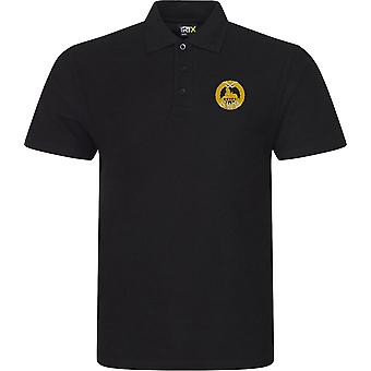 South Wales Borderers-licensierade brittiska armén broderade RTX Polo