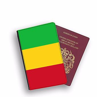 MALI Flag Passport Holder Style Case Cover Protective Wallet Flags design