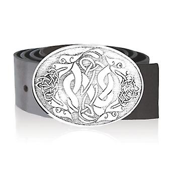 Oval Highland Serpent Buckle (BB020 EP)