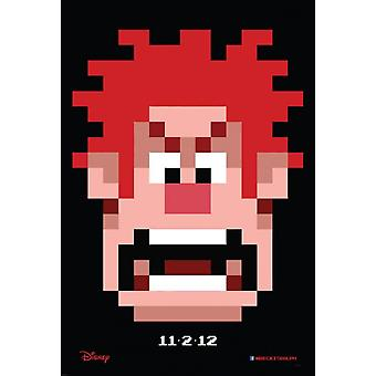 Wreck-It Ralph Poster Double Sided Advance (2012) Original Cinema Poster