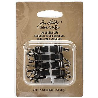 Idea-Ology Carousel Clips 20/Pkg-For Use With TH93214 TH93218