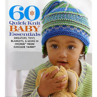 Sixième & Springs Quick Books-60 tricot Baby Essentials SSB-96831