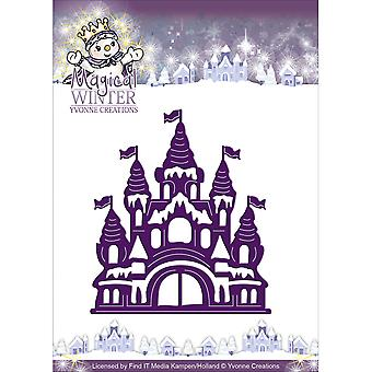 Find It Trading Yvonne Creations Magical Winter Die-Castle YCD10042
