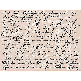 Hero Arts Mounted Stamp Old Letter Writing S1299 S4878
