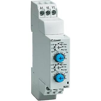 Crouzet 88827155 Time Delay Relay, Timer, IP50 (front)