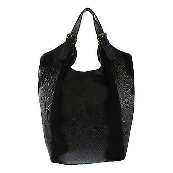 Ladies Leather handbag with CTM animal pattern