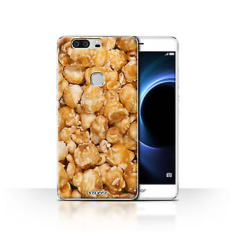 STUFF4 Case/Cover for Huawei Honor V8/Butterkist Popcorn/Snacks