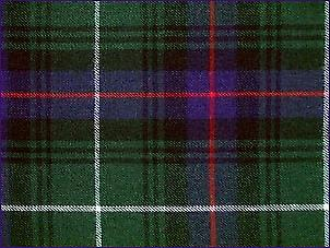 MacDonald of the Isles caccia, moderno - pura lana Tartan