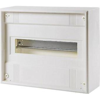 Switchboard cabinet Surface-mount No. of partitions = 14 No. of rows = 1