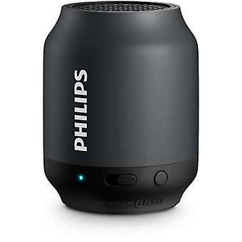 Philips portable bluetooth speaker black bt50b 00