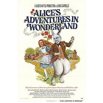 Alices Abenteuer im Wunderland Movie Poster drucken (27 x 40)