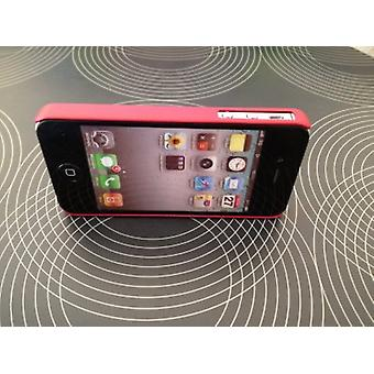 Case-Mate Barely There Hard Cover für iPhone 4/4S - Rot