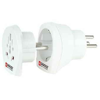Skross Combined Universal Adapter For Israel (DIY , Electricity , Switches and sockets)